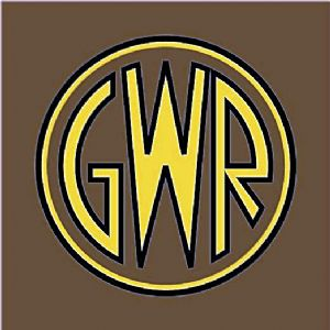 Great Western Railway GWR Logo enamelled steel wall sign    (dp)